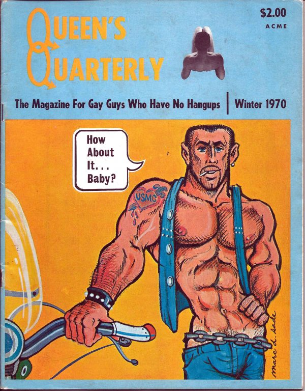 QQ Magazine (Queens Quarterly) Winter 1970 - For Gay Guys who have no handups