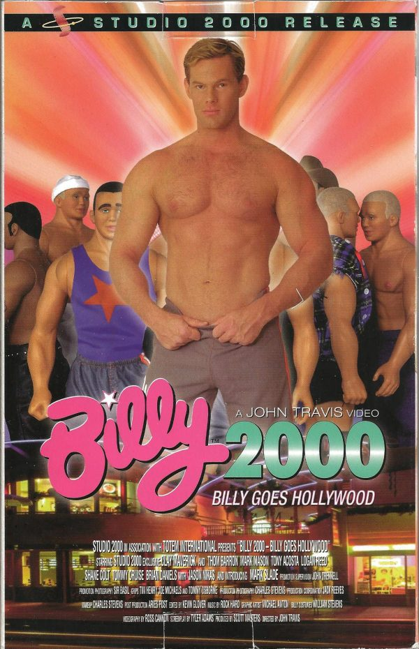 Vintage VHS Tape: BILLY 2000 - Billy Goes Hollywood