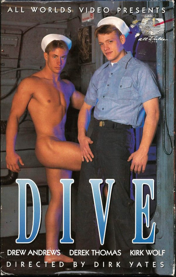 Vintage VHS Tape: All Worlds Video presents - DIVE