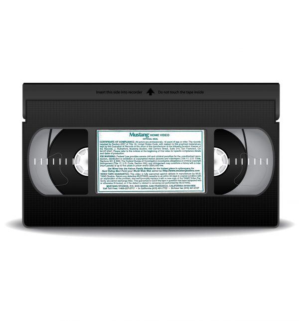 Vintage VHS Tape Mustang