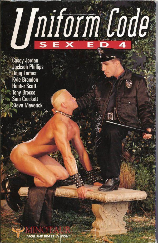 Vintage VHS Tape: UNIFORM CODE SEX ED 4