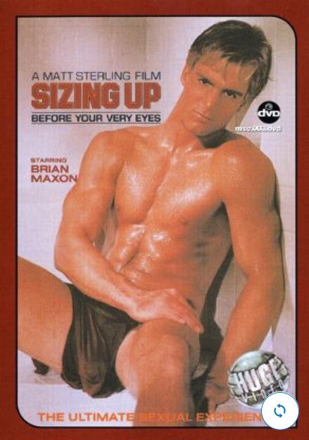 Vintage VHS Tape FALCON Studios: SIZING UP
