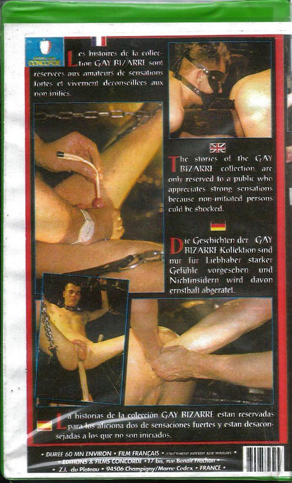 Vintage VHS Tape: GAY BIZARRE - FOOT FUCKING No.2
