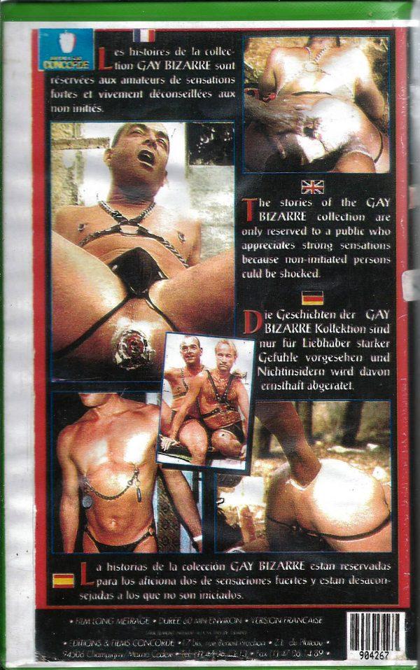 Vintage VHS Tape: GAY BIZARRE - MEGA FIST No.1