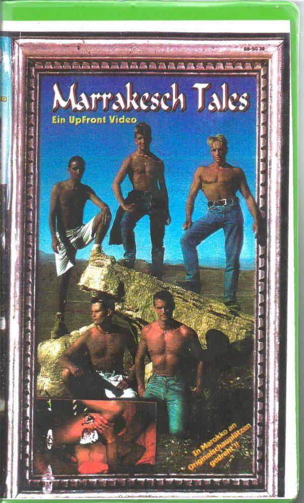 Vintage VHS Tape: MARRAKESH TALES