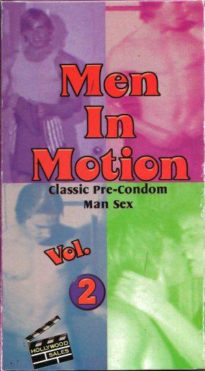 Vintage VHS Tape: MEN IN MOTION - Pre-Condom Man Sex - Vol.2
