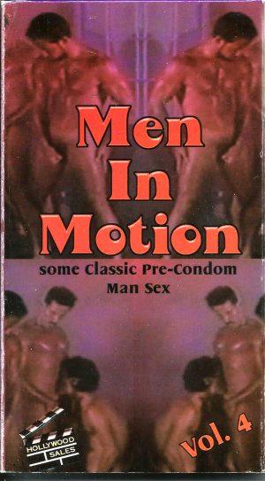 Vintage VHS Tape: MEN IN MOTION - Pre-Condom Man Sex - Vol.4