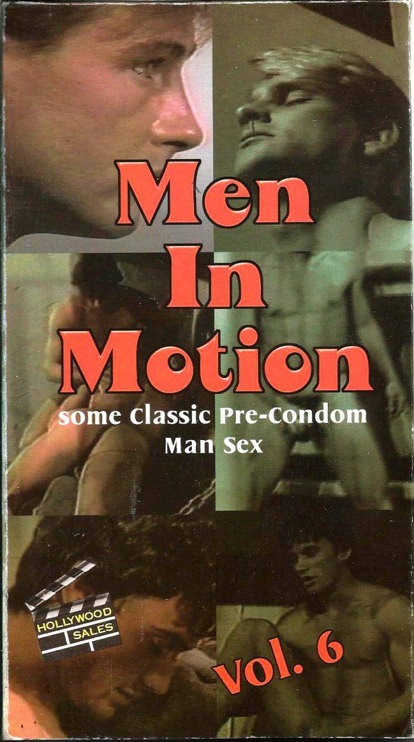 Vintage VHS Tape: MEN IN MOTION - Pre-Condom Man Sex - Vol.6