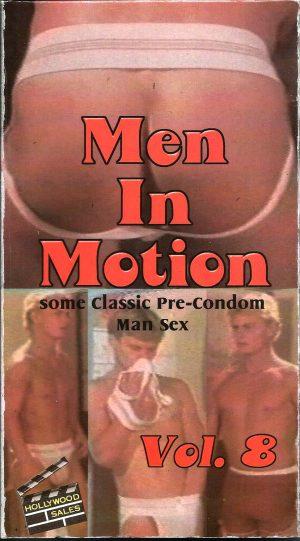 Vintage VHS Tape: MEN IN MOTION - Pre-Condom Man Sex - Vol.8
