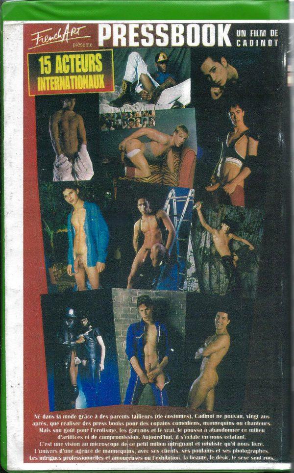 Vintage VHS Tape: PRESSBOOK un Film de Cadinot