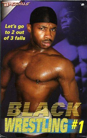 Vintage VHS Tape: Black Wrestling #1