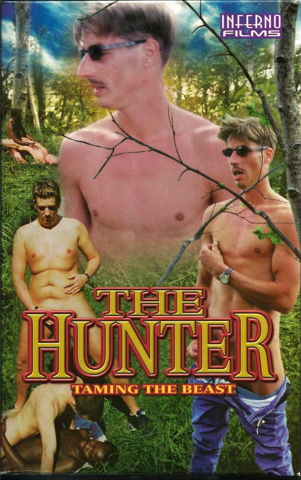 Vintage VHS Tape: The Hunter Taming the Beast