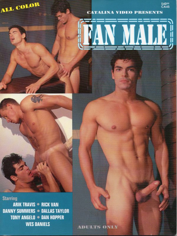 Catalina Video Presents - FAN MALE - Gay Full Color Illustrated Photo Magazine