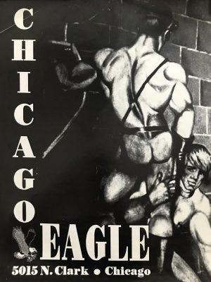 "Vintage CHICAGO EAGLE - by Etienne - Rare Print 22 x 16.5"""