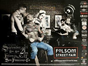 "Rare - FOLSOM STREET FAIR 2014 - Print 24 x 18"""