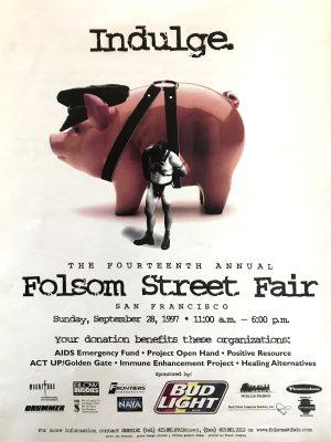 "Rare - FOLSOM STREET FAIR 1997 - Print 24 x 18"""