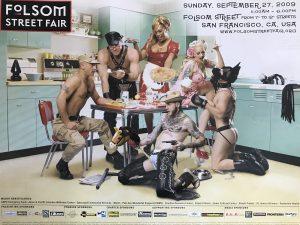 "Rare - FOLSOM STREET FAIR 2009 - Print 24 x 18"""