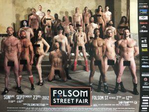 "Rare - FOLSOM STREET FAIR 2012 - CENSORED - Print 24 x 18"""