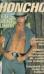 HONCHO Magazine (April 1997) Gay Male Digest Magazine