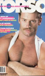 TORSO Magazine (February 1988) Gay Male Digest Magazine
